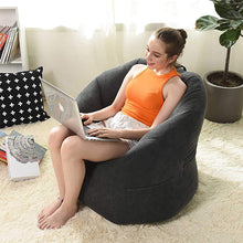 Load image into Gallery viewer, Bean Bag Cover Sofa Chair Filling Bag Lounger Sofa