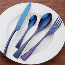 Load image into Gallery viewer, Tableware Include Knife Fork Spoon Elegant Cutlery Stainless Steel Kitchen Utensils - Targen