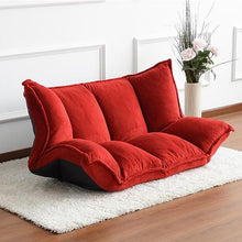 Load image into Gallery viewer, Floor Furniture Reclining Japanese Futon Sofa Bed For Living Room - Targen