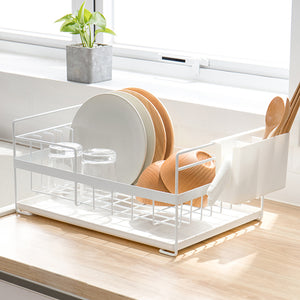 Kitchen Storage Organizer Dish Drainers Drying Racks Sink Holders Tray for Tableware - Targen