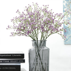 Artificial Flower Gypsophila Silicone Plant 5 Colors For Decoration - Targen