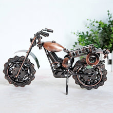 Load image into Gallery viewer, Wrought Iron Motorcycle Model Creative Handicrafts Home Decoration - Targen