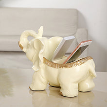 Load image into Gallery viewer, Storage Elephant Figurine Cute Statue Desk Animal Sculpture - Targen