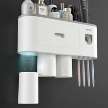 Load image into Gallery viewer, Toothbrush Holder Inverted Cup Automatic Toothpaste Squeezer Sets - Targen