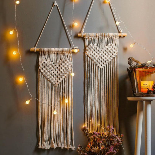 New Handmade Woven Macrame Wall Hanging Tapestries