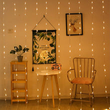 Load image into Gallery viewer, Fairy Lights Waterproof Copper Wire Starry String Powered Hanging Warm White Ambiance Lighting - Targen