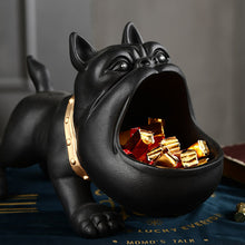 Load image into Gallery viewer, 3D Dog Resin Figurines Storage Box Animal Statues Sculpture - Targen