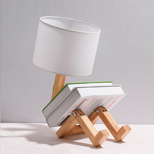 Robot Shape Table Lamp LED Flexible Adjustable Folding Reading Light - Targen