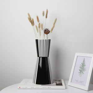 Geometric Modern Scandinavian Table Countertop Ceramic Vase - Targen