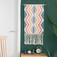Load image into Gallery viewer, Handmade Tapestry Macrame Retro Nordic  Handcrafted Room Decor - Targen