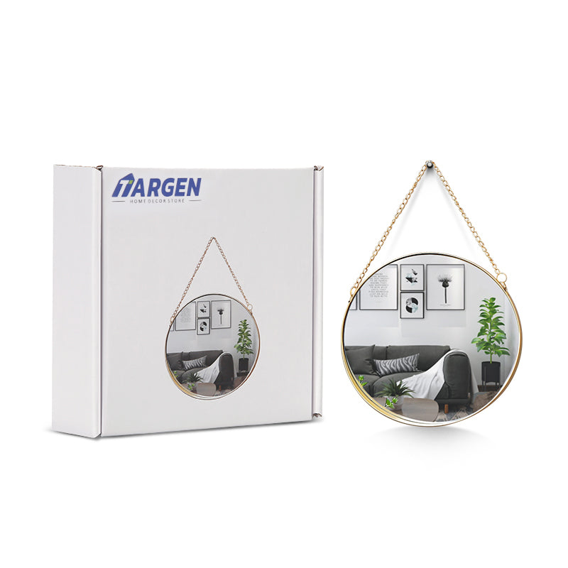 Targen Decorative Round Mirror Wall Hanging - Targen