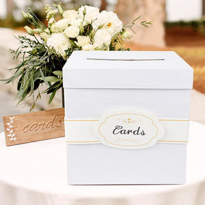 Warm Wedding Card Box Creative Money Box Wedding Decoration  Paper Gift Boxes - Targen