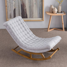 Load image into Gallery viewer, Nordic Simple Rocking Chair Lazy Couch Single Balcony Nap Easy Chair - Targen