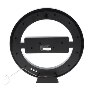 Circular LED Digital Wall Clock For Home Decoration - Targen