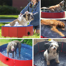 Load image into Gallery viewer, Foldable Dog Pet Bath Pool Collapsible Dog Pet Pool Bathing Tub