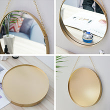 Load image into Gallery viewer, Targen Decorative Round Mirror Wall Hanging - Targen