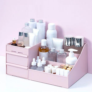 Large Makeup Drawer Organizer Jewelry Nail Polish Makeup Container - Targen