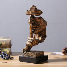 Load image into Gallery viewer, Creative Silence Figure Abstract Crafts Retro Desktop Sculpture Art Decoration - Targen