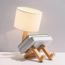 Load image into Gallery viewer, Robot Shape Table Lamp LED Flexible Adjustable Folding Reading Light - Targen