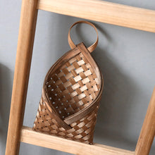 Load image into Gallery viewer, Woven Wall Hanging Mounted Basket Rustic Idyllic Flower Basket - Targen