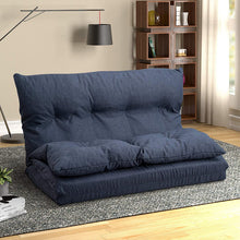 "Load image into Gallery viewer, Maibos 40"" Fabric Chaise Lounge Folding Sofa"