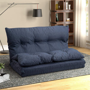 "Maibos 40"" Fabric Chaise Lounge Folding Sofa"