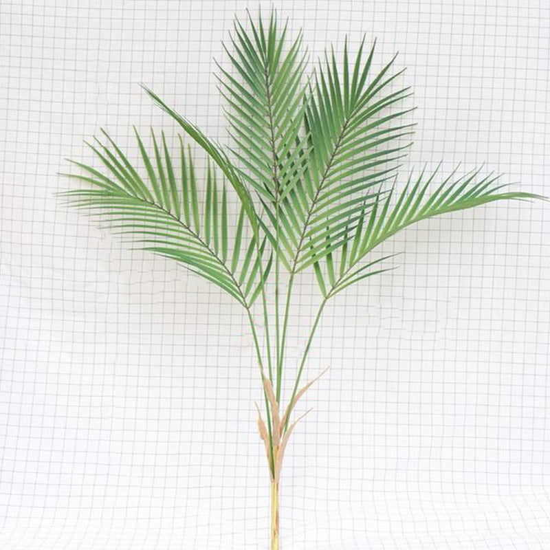 Green Artificial Palm Leaf  Garden Home Decorations - Targen