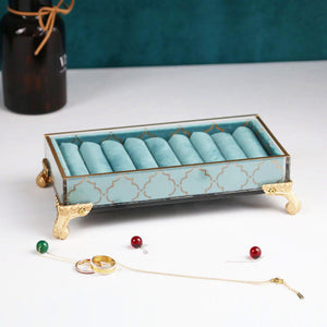 Jewelry Wrought Iron Storage Box European and American Style Earring Rack - Targen