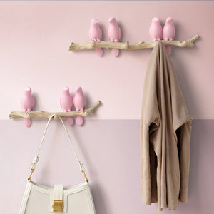 Targen Clothes Hooks Bird Hanger Hat Handbag Holder - Targen
