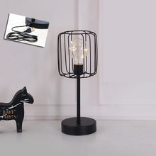 Load image into Gallery viewer, Diamond Iron Vintage Lamp Table Figurines USB Light - Targen