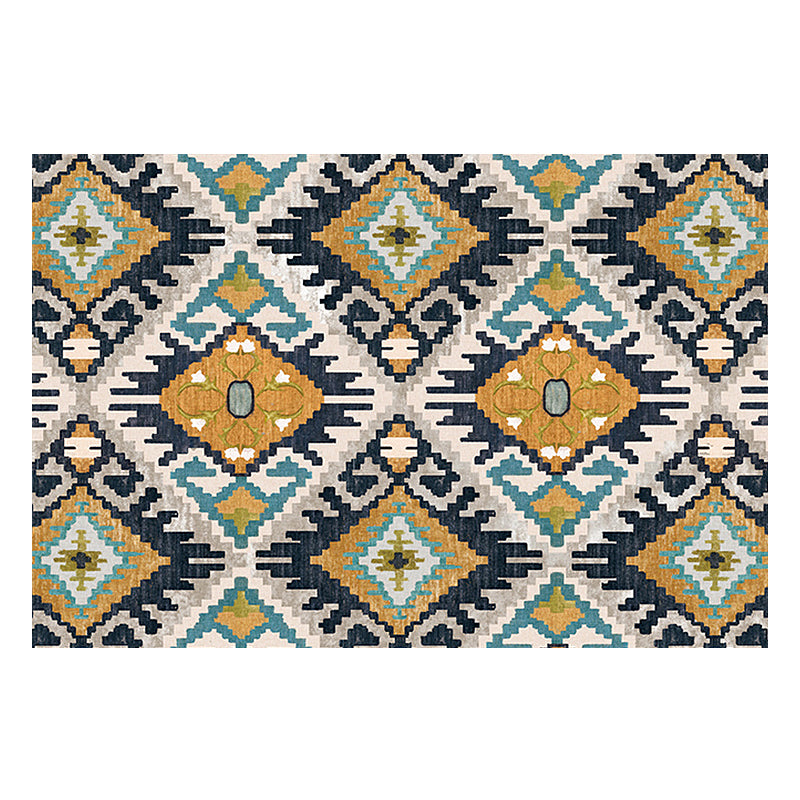 Vintage Classic Geometric Carpets For Living Room Bedroom - Targen
