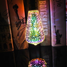 Load image into Gallery viewer, 3D Decoration LED Light Bulb with E27 Base