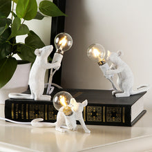 Load image into Gallery viewer, Creative Resin Mouse Table Light