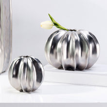 Load image into Gallery viewer, Targen Faux Harvest Pumpkin Vase