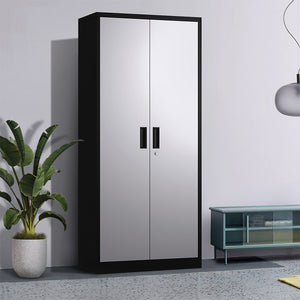 Targen Steel Storage Cabinet With Lockable Doors