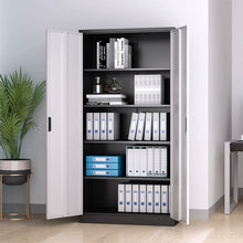 Load image into Gallery viewer, Targen Steel Storage Cabinet With Lockable Doors