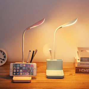 LED Desk Lamp USB Rechargeable Adjustment Message Table Light - Targen