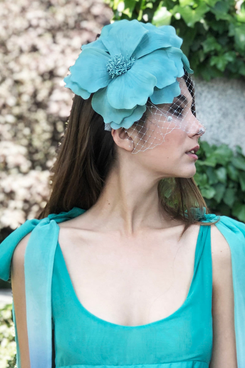 Nashay Headband - Aqua Green
