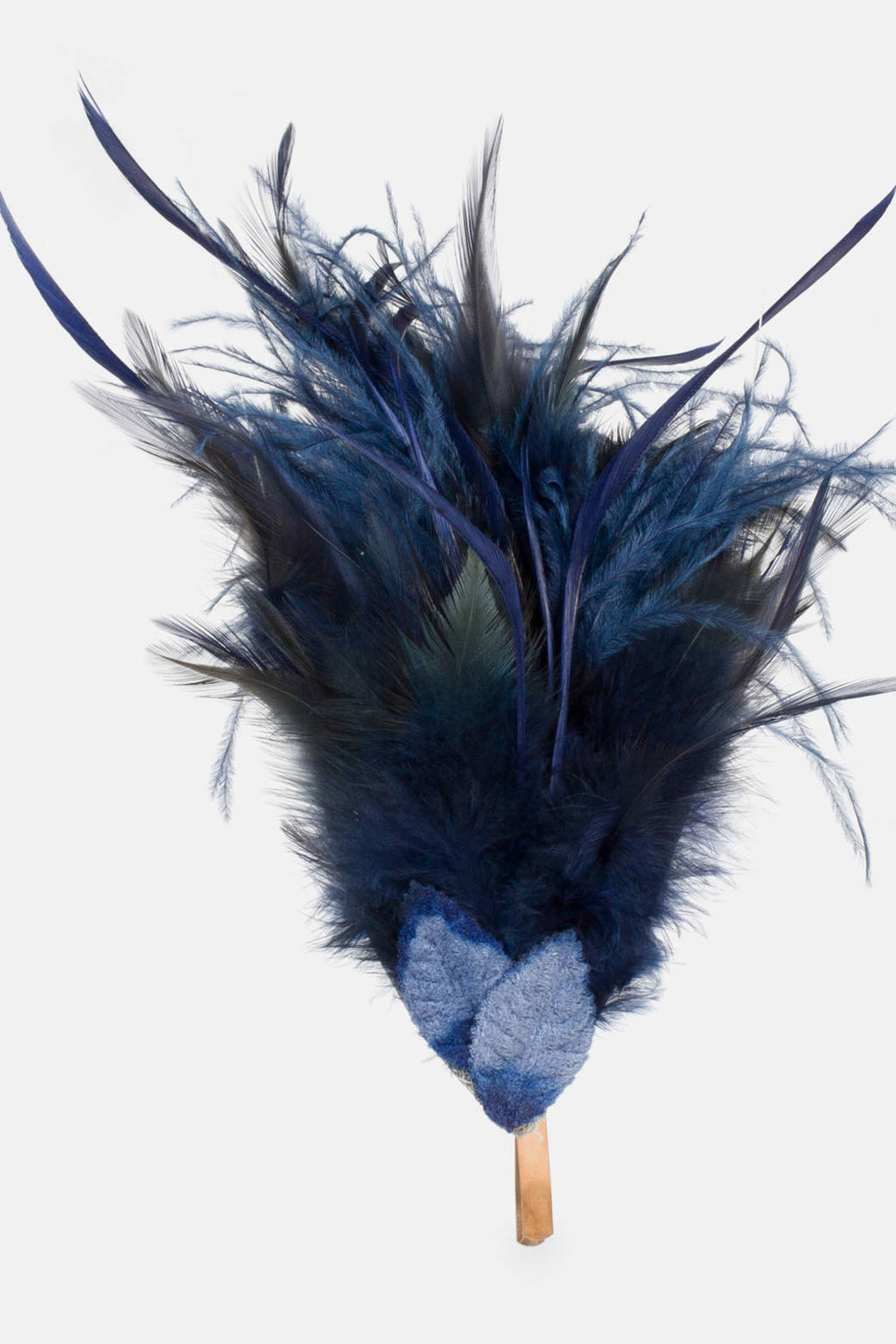 Julia Headdress - Navy Blue