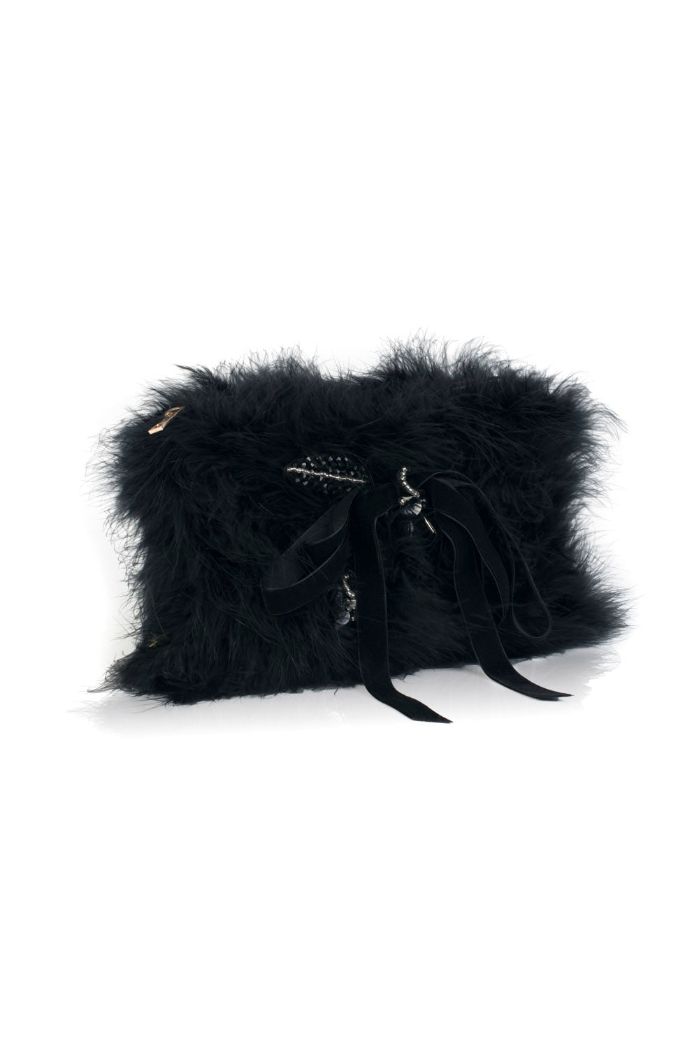 GV1 Feather Bag - Nero