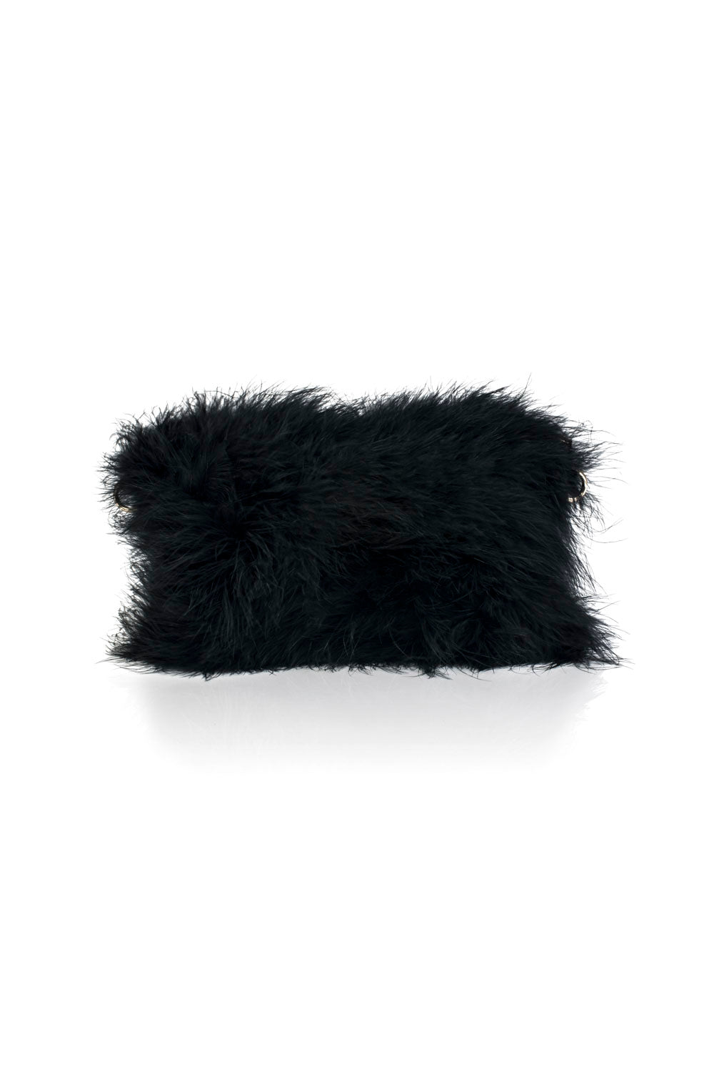 GV1 Feather Bag - Black