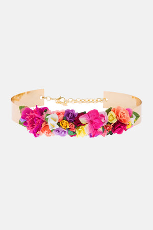 Cinto floral Sherwood - Fuxia
