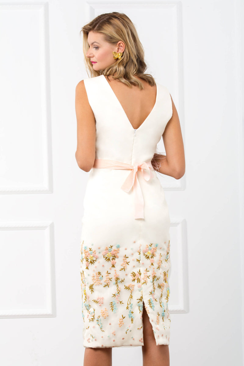 Claire Dress - White