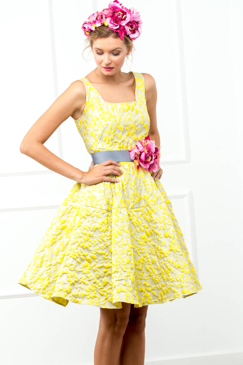 Karina Dress - Yellow