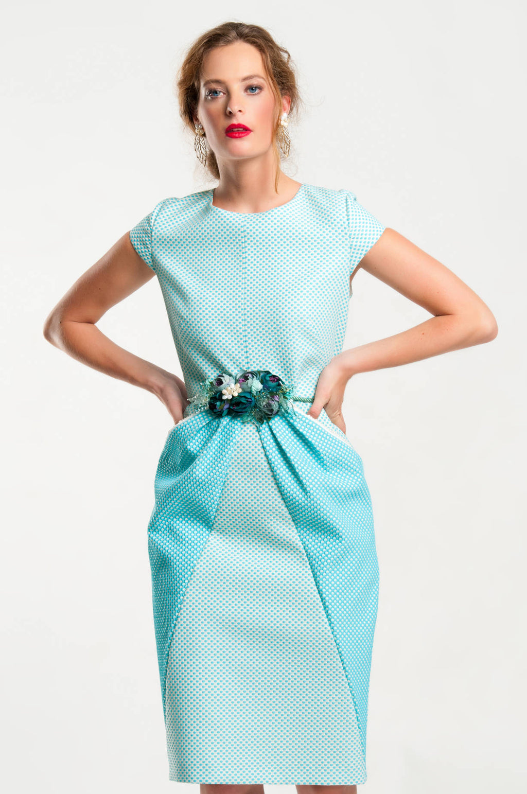 Mave Merch Mother of the Bride Dress - Turquoise Green