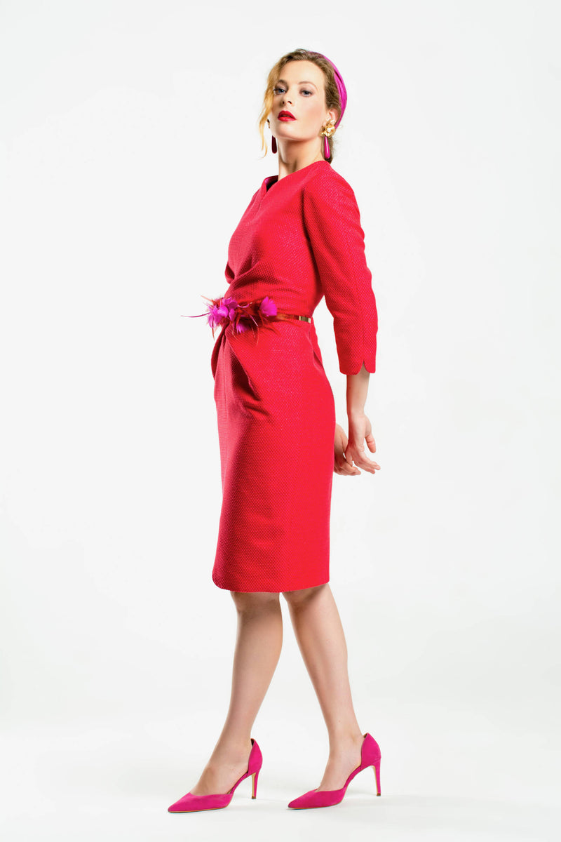 Robe Thierry - Rouge