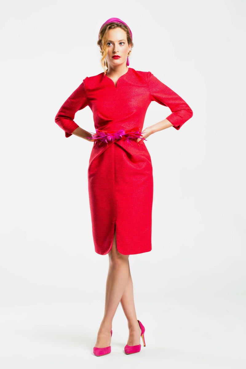 Thierry dress - Red