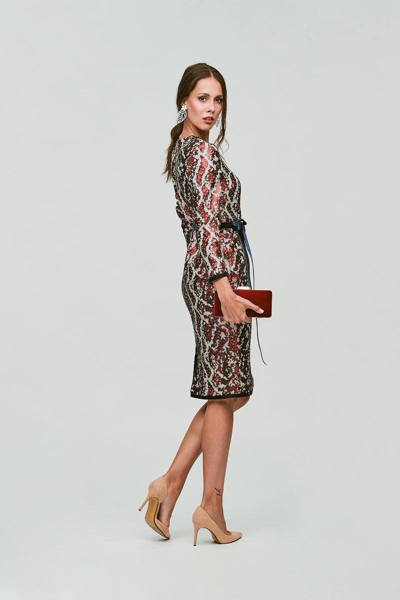 Snake Dress - Multicolor
