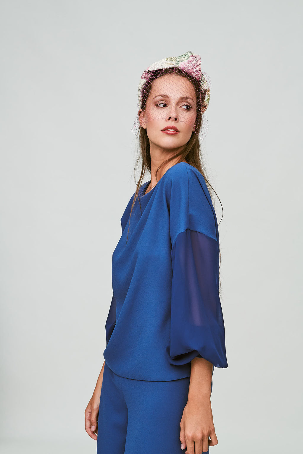 Manon Shirt - Navy Blue