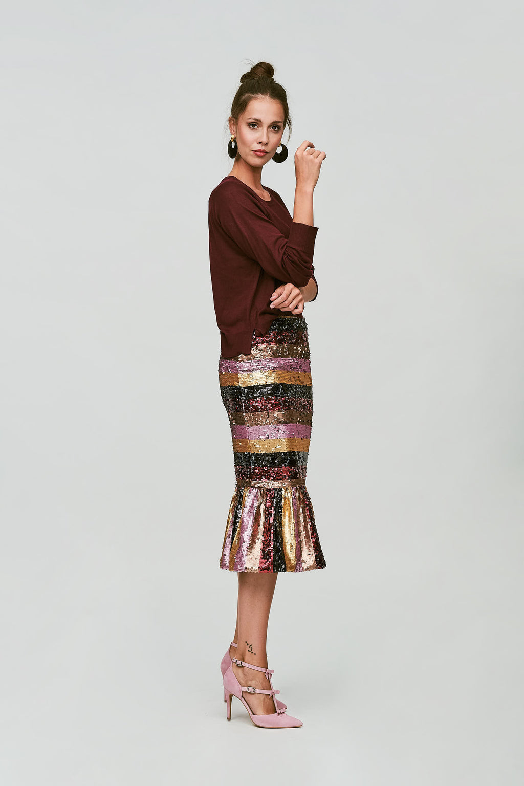 Munich skirt - Garnet